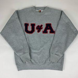 Arizona Wildcats NCAA Vintage Crewneck Sweatshirt